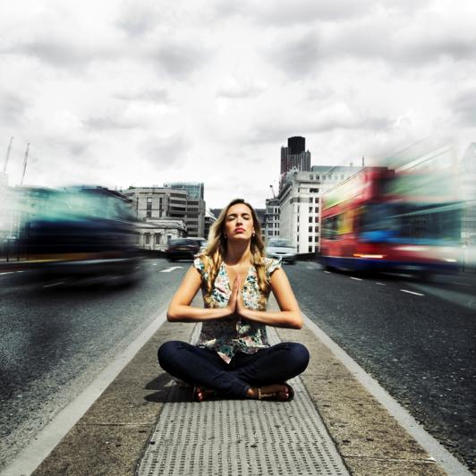 Street Meditator